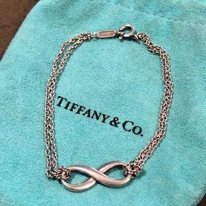 Silver Infinity Bracelet Tiffany & Co.